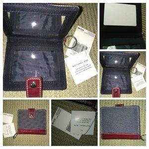 👜Liz Claiborne keychain card holder